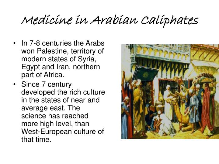 Medicine in Arabian Caliphates