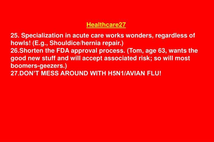 Healthcare27