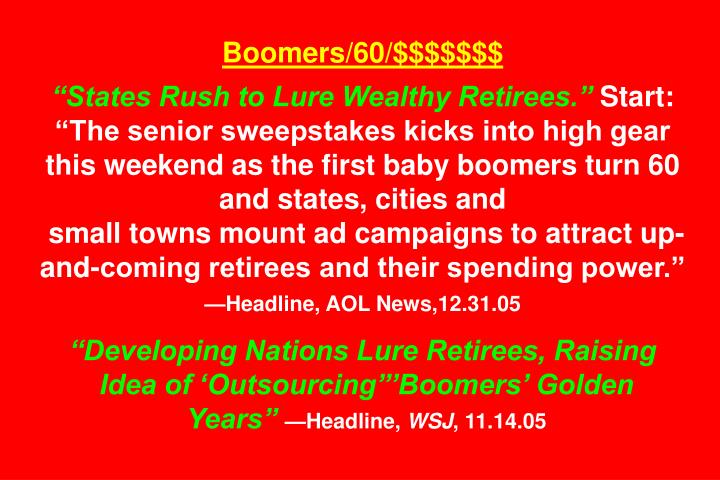 Boomers/60/$$$$$$$