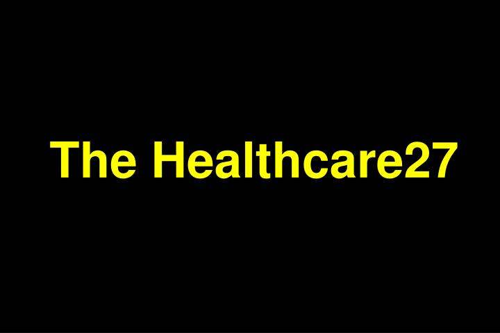 The Healthcare27