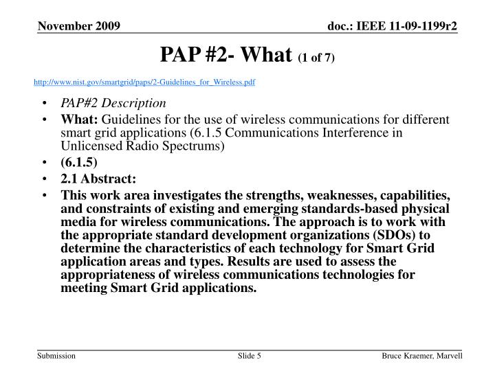 PAP #2- What