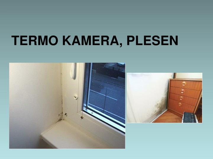 TERMO KAMERA, PLESEN