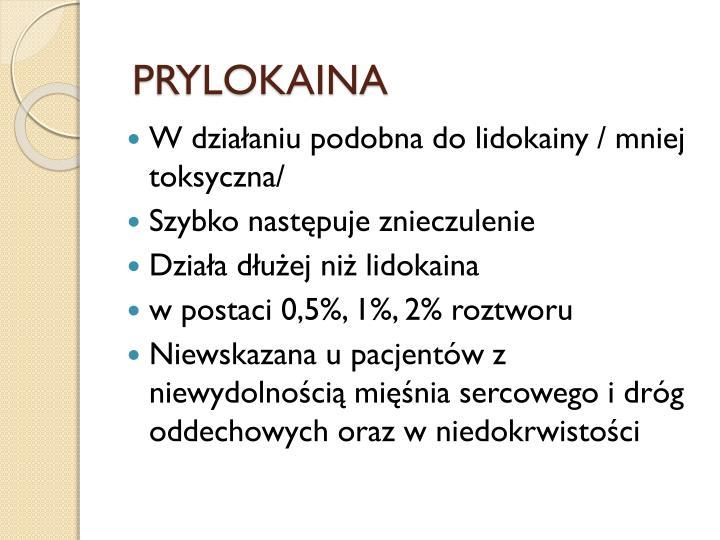 PRYLOKAINA