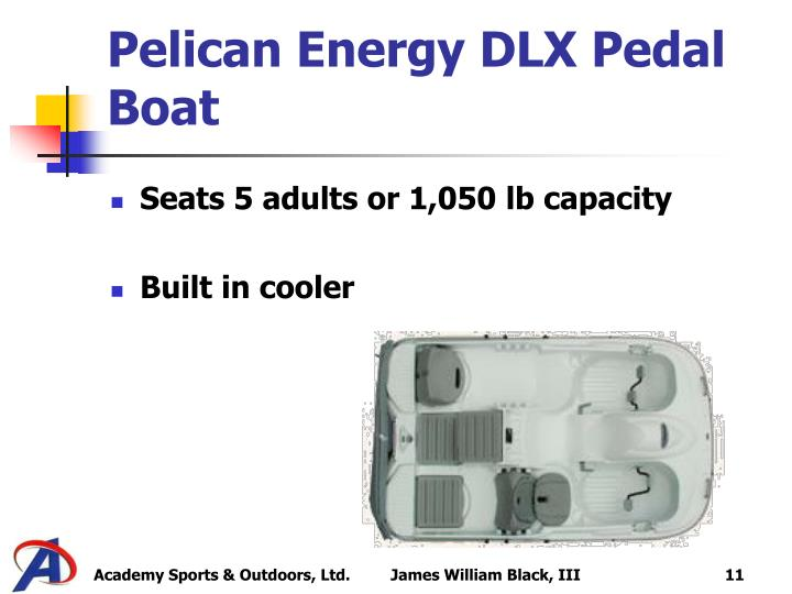 Pelican Energy DLX Pedal Boat