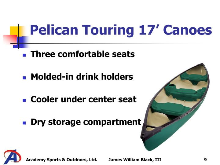 Pelican Touring 17' Canoes