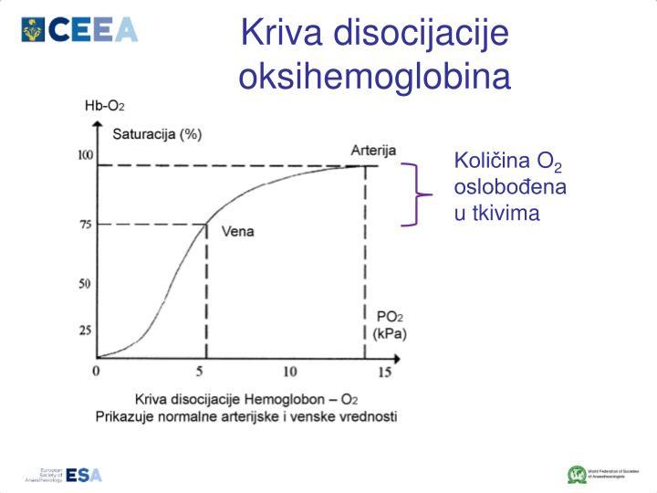 Kriva disocijacije oksihemoglobina
