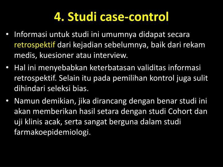 4. Studi case-control