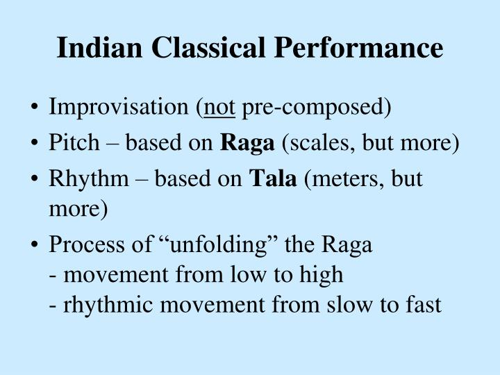 Indian Classical Performance