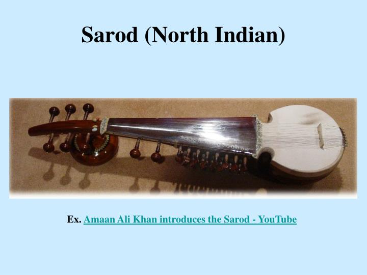 Sarod (North Indian)