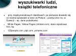 wyszukiwarki ludzi ksi ki telefoniczne