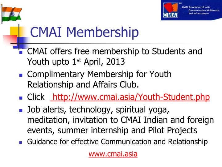 CMAI Membership