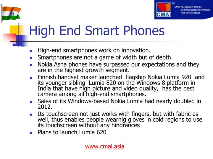 High End Smart Phones