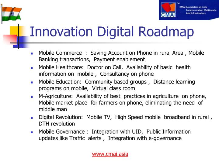 Innovation Digital Roadmap