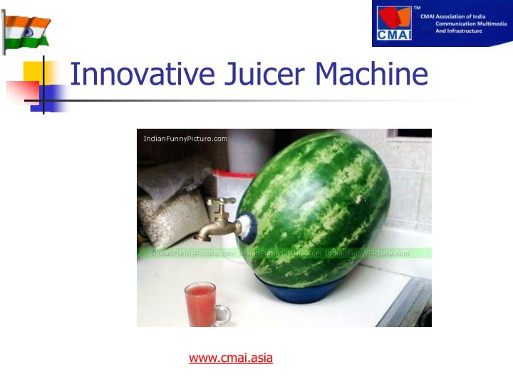Innovative Juicer Machine