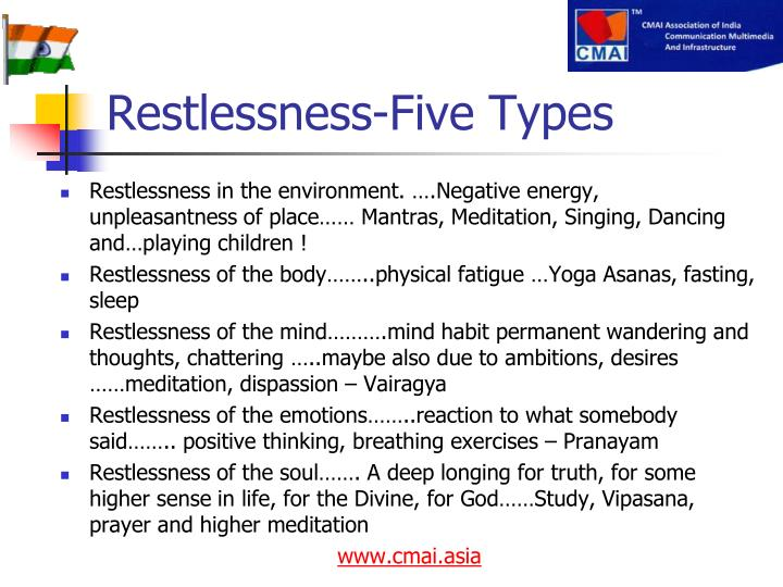 Restlessness-Five Types