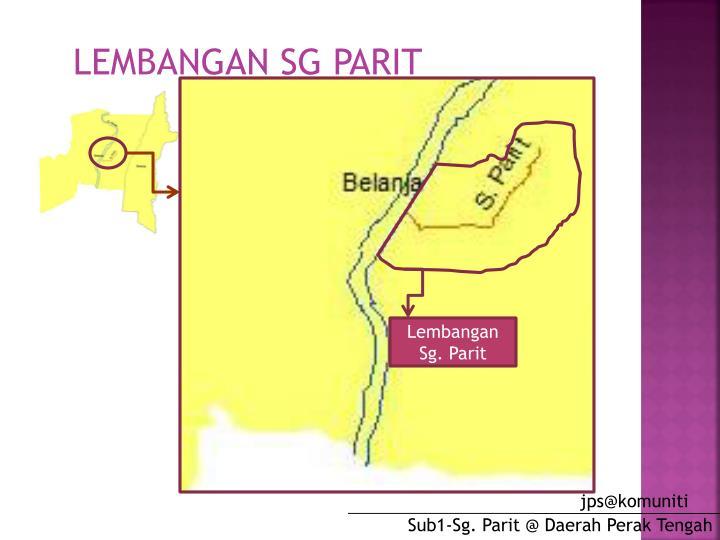 LEMBANGAN SG PARIT