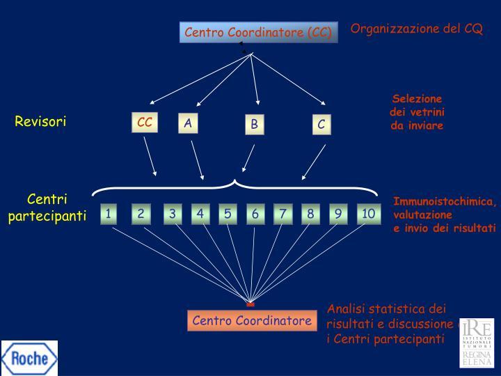 Organizzazione del CQ
