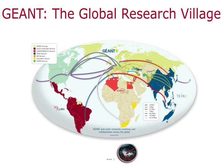 GEANT: The Global Research Village