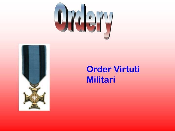 Ordery