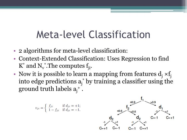 Meta-level Classification