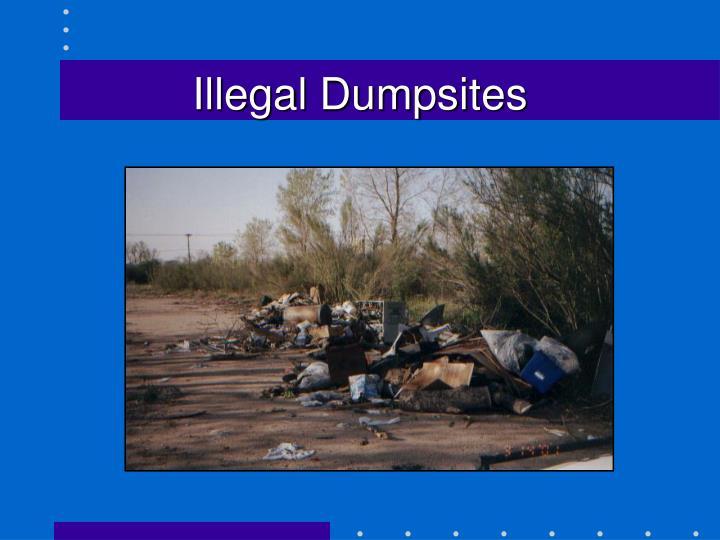 Illegal Dumpsites