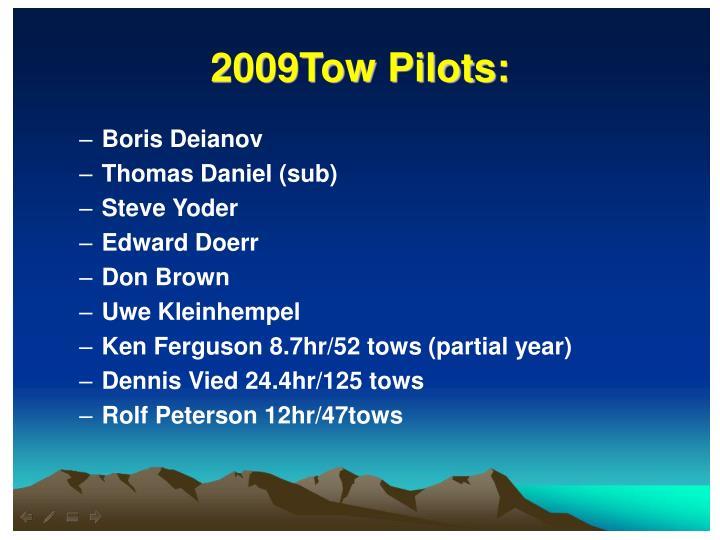 2009Tow Pilots: