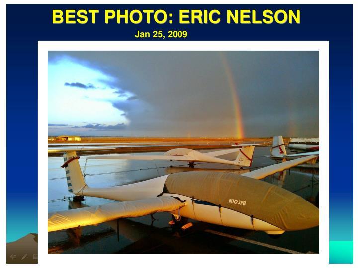 BEST PHOTO: ERIC NELSON