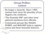 group profiles latinos