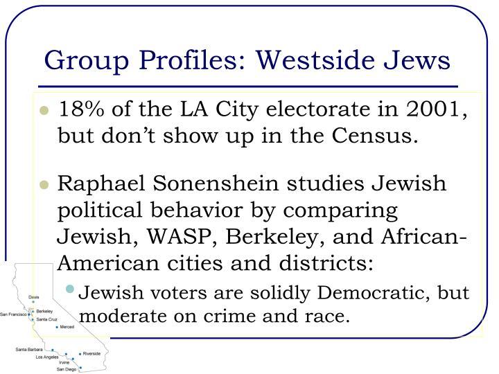 Group Profiles: Westside Jews