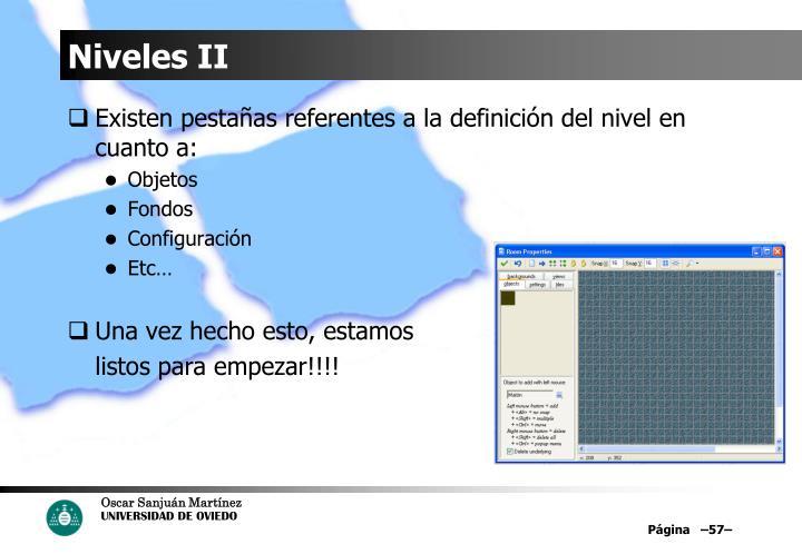 Niveles II