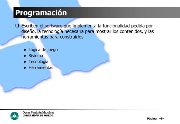 Programación