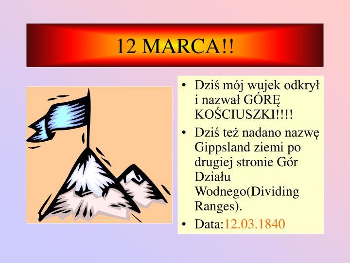 12 MARCA!!