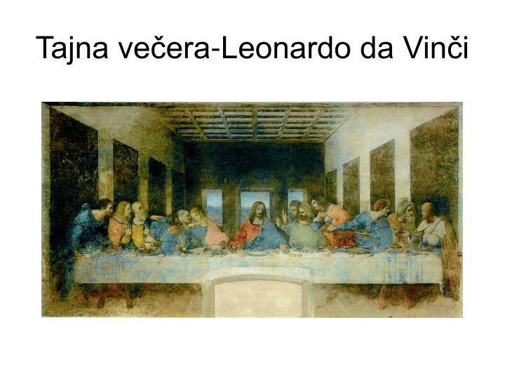 Tajna večera-Leonardo da Vinči