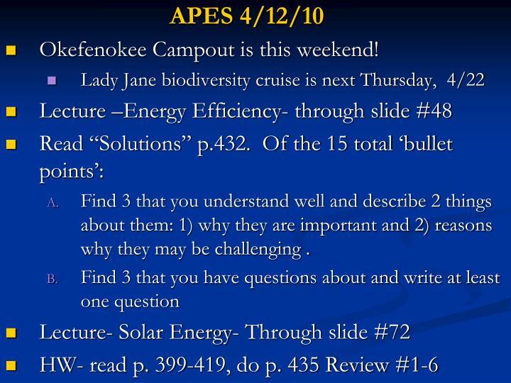 APES 4/12/10