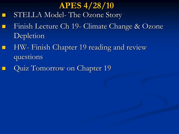 APES 4/28/10