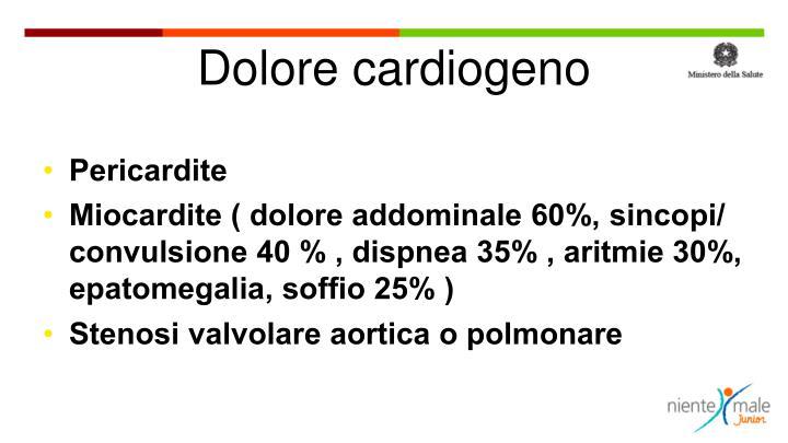 Dolore cardiogeno