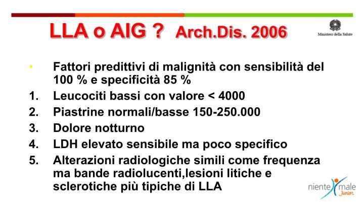 LLA o AIG ?