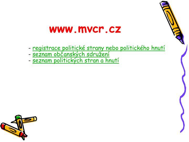 www.mvcr.cz