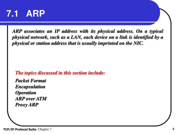 7.1   ARP