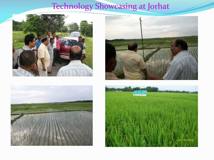 Technology Showcasing at Jorhat