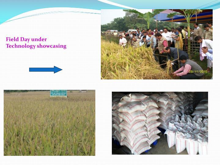 Field Day under Technology showcasing