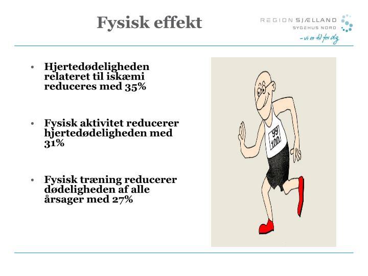 Fysisk effekt