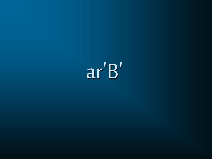 ar'B'