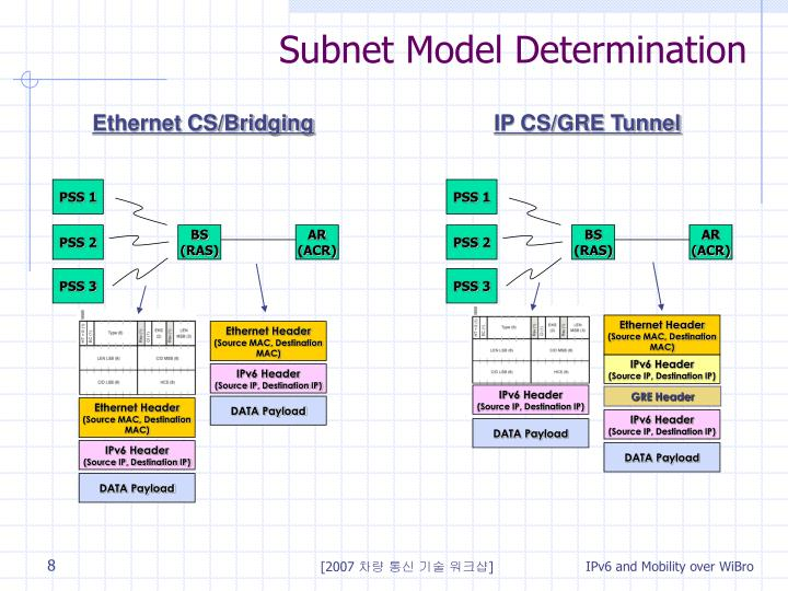 Subnet Model Determination