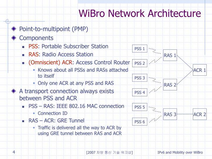 WiBro Network Architecture