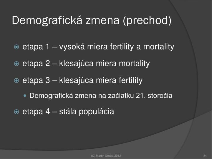 Demografická zmena (prechod)