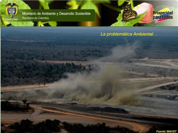 La problemática Ambiental…