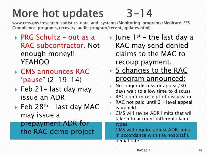 More hot updates   3-14