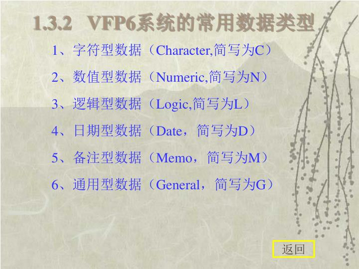 1.3.2   VFP6