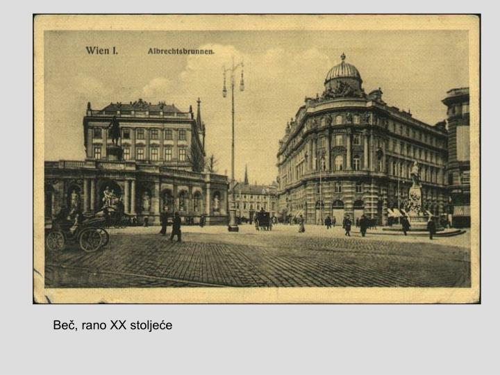 Beč, rano XX stoljeće